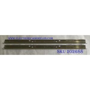 """KIT DE LED'S PARA TV (2 PIEZAS) LG / 3660L-0346A / INNOTEK 32"""" REV 0.4 48EA TYPE-B / INNOTEK 32"""" REV 0.4 48EA TYPE-A / PANEL LC320EUH (SC)(R1) / MODELOS 32LE5400 / XVT323SV / M320VT"""