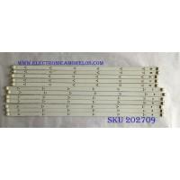 "KIT DE LED'S PARA TV LG / POLA2.0 55"" L TYPE REV 0.1 2012.10.18 / PANEL LN54M550060V12 / SUSTITUTOS NC550DUN-SAAP1 / LA62M55T120V12  / NOTA IMPORTANTE : KIT CUENTA ORIGINALMENTE 14 PIEZAS ((INCOMPLETO 12 PIEZAS)) / MODELO 55LN5400-UA BUSULJR"
