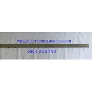 LED PARA TV TCL (1 PIEZA) / TCL-GIC-49S15-66EA / TCL GIC 49S415 66ea 4014_R LX20171018_Ver.0 / YHE-4C-LB4966-YH01L-130318-3B182-03661 / PANEL LVU490NEBL / MODELO 49S515 / 1.06 M X 5 CM /