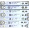 KIT DE LED'S PARA TV VIZIO (10 PIEZAS) / GJ-2K18-E43-430-D510-V6 / 210BZ05D0B334BH00D / 18126 / PANEL TPT430U3 -QVN03.U / MODELO E43-F1 LTTWWTKU