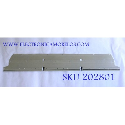 LED PARA TV LEECO / (1 PIEZA) / LBM550M3202-CK-1 / P90B997010100000LT / EVT LBM550M3202-CK-1-(HF)(0)(R) / EVT LBM550M3202-CK-1-(HF)(0)(L) / PANEL TPT550U1-QVN05.U REV:S000M / MODELO L554UCNN / 1.21 M X 18 CM /