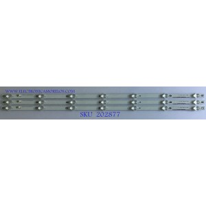KIT DE LED´S PARA TV VIZIO ( 3 PIEZAS )  / INNOLUX_40_D03_3X7_3030C_D6T-2D1_C4D9 / E485186 / PANEL V400DJ2-D03 REV.C1 / MODELO V405-G9 LINIYAKV / V405-G9 LINIYANV / V405-G9 LINIYALV
