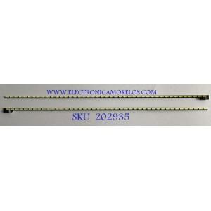 KIT DE LEDS PARA MONITOR DELL (2 PIEZAS) / LB3241 / LC5M5C5P5Y / MX-32M04001 / 12400 / PANEL M320DVN02.0 / MODELO S3219DC