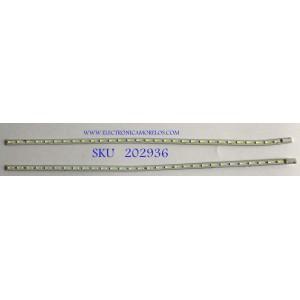 KIT DE LEDS PARA TV HITACHI (2PIEZAS) / TOR290002 V2-L / CEM876A  / LED_BAR_R / PANEL V29BJ1PE1LED / MODELO LE29H307