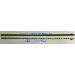 KIT DE LEDS PARA MINITOR SAMSUNG (2 PIEZAS) / 34UM59 REV 0.3 / PANEL LGM340FS41 / MODELO 34WK500-P.AUSLESN