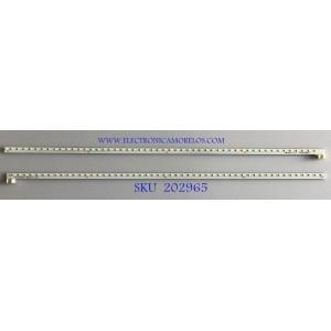 KIT DE LEDS PARA MONITOR ACER (2 PIEZAS) / NS31-5886Y / F90617 / 1M0C162DW / PANEL TPT315B5-QHBN0.K REV:A9P3G A / MODELO ET322QU