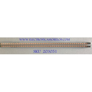 KIT DE LEDS PARA MONITOR HP (2 PIEZAS) / 6916L-1144A / 6916L-1143A / 300WQ6 (L) REV0.2 / 300WQ6 (R) REV0.2 / PANEL LM300WQ6 (SL)(A1) / MODELO Z30I IPS