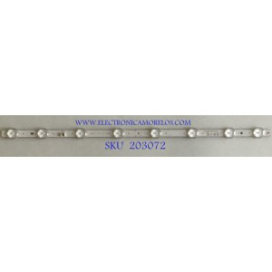 LED PARA TV LG (1 PIEZA) / EAV63632302 / SSC_32LJ61_HD_8LED_REV03_170224 / 21R1B / PANEL'S HC320DXN-ABSL3-2141 / NC320DXG-ABGX2 / MODELOS 32LM570BPUA.DUSELUM / 32LM620BPUA.DUSELUM