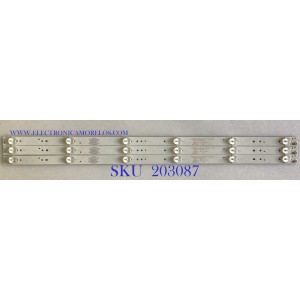 KIT DE LEDS PARA TV ATVIO (3 PIEZAS) / 303TT320038 / 0D32D06-ZC21FG-05 / PC63883B / PANEL 303TT320038 / MODELO ATV-32