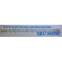 KIT DE LED'S PARA TV HISENSE (3 PIEZAS) / NUMERO DE PARTE SVH500AD8 / CRH-BX500X1U913030T031498T-REV1.0 / HD500X1U91-L3 / PANEL HD500X1U91-L3/S1/GM/R0H / CV500U2-T01 / MODELO 50R6090G5