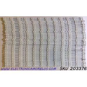 KIT DE LED'S PARA TV LG (29 PIEZAS) / NUMERO DE PARTE EAV64593101 / SSC_SLIMDRT_75SM99_S / Y19_SLIM_DRT_75SM99_CASE K_181122 / PANEL NC750DZD-AAHH1 / MODELOS 75SM9970PUA / 75SM9970PUA.AUSYUH