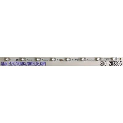 LED PARA TV PHILIPS (1 PIEZA) / NUMERO DE PARTE RF-EN320002SR30-0801  A2 / UDULEDREF002. REV.B / 32W8S1P / PANEL'S UCGF1XT / LSC320AN10-A08 / MODELOS 32PFL4664/F7 / 32PFL4664/F7 A