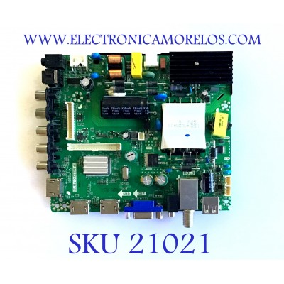 MAIN FUENTE (COMBO) / WESTINGHOUSE / 21004987 / TP.MS3393.PB751 / K16041534 / LSC550HN04 / PANEL LSC550HN04-J01 / MODELO