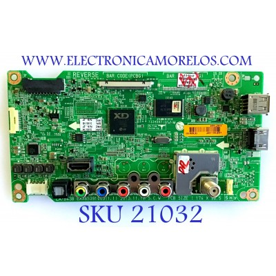 MAIN LG / EBT62841561 / EAX65391004(1.0) / EBR77616661 / PANEL LC550DUE-(FG)(A3) / MODELO 55LB6000-UH BUSWLJR / SUSTITUTAS EBT62841587 / EBT62841576 / EBT62841578 / EBT62841583 / EBT62841558 / EBT62841571