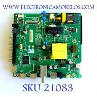 MAIN FUENTE (COMBO) HISENSE / 240782 / TP.SR.PB701 / LSC400HN02 / HU40N2176MF / PANEL JHD400N2F31-TXL2B1QL\S0\GM\ROH / MODELO 40EU300 R40M1831
