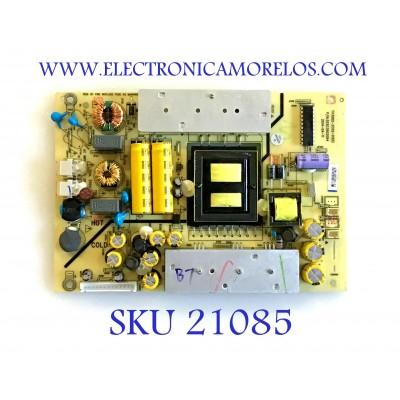 FUENTE DE PODER / ELEMENT 510-150113221 / TV302-ZC02-01(D) / 303C3902064 / MODELO ELEFW408R