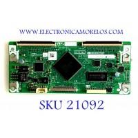 T-CON SHARP / RUNTK4010TPXC / XE707WJ / KE707WJ / PANEL DSETFE716WE06 / MODELO LC-46D65U