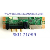 MODULO A/V SAMSUNG / BN96-06418E / BN41-00952A / PANEL LTA520HC05 / MODELO LNT5271FX/XAA