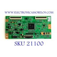 T-CON SAMSUNG / BN81-04158A / S120APM4C4LV0.4 / LJ94-03275H / 3275H / PANEL LTF460HJ01-A05 / MODELOS LE46C650L1KXXU SQ02 / LE46C652L2KXXU SQ02 / LN46C650L1FXZA / LN46C670M1FXZA / SUSTITUTAS EN DESCRIPCIÓN
