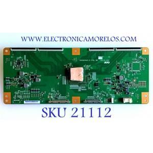 T-CON SONY / 55.65T31.C01 / T650QVN02.0 / 65T31-C04 / 5565T31C01 / PANEL YD4S650DTU01 / MODELO XBR-65X950B