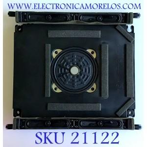 KIT DE BOCINAS PARA TV SHARP / ZA457 / PS-HI FR17 / ZA475 / MODELO LC-60LE810UN
