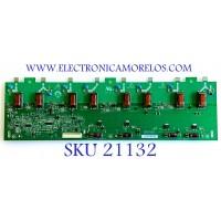 BACKLIGHT INVERTER / INSIGNIA / SANYO / DINEX / 19.31T03.014 / V225-3XX / V225-301 HF / E206453 / PANEL T315XW02 V.S / MODELOS NS-LDVD32Q-10A / DX-L32-10A / DP32640 / DP32649 P32649-00 / KDL-32L5000 / VECO320L1A