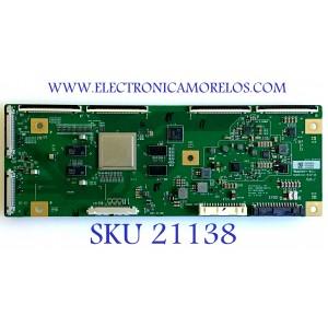 T-CON SONY / 6871L-5969D / 6870C-0816A / LE650AQP-AMA-Y31  PANEL LE650AQP(AM)(A2) / MODELO XBR-65A8G
