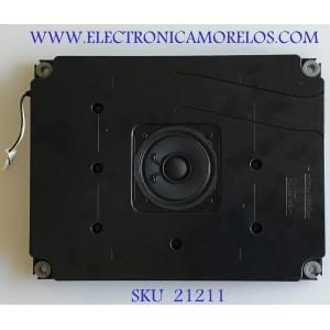 BOCINA PARA TV SHARP / RSP-ZA575WJZZ / 547764 / PS-HI FR(17) / PC+ABS FR(40) / PANEL JE695D3HB1A / MODELO LC-70TQ15U