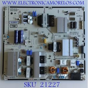 FUENTE LG SMART TV 4K CINEMA HDR / EAY65169931 / B12J019931 / LGP75M-19SP / PANEL NC750DQD-AAHH1 / MODELO 75SM9070PUA.AUSYLJR