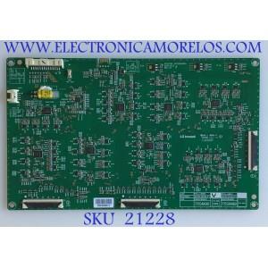 LED DRIVER LG SMART TV 4K CINEMA HDR / EBR87848501 / 3PR02487A  / PCLL-L890A / JAC04-0222A-P1/ 75SM90 / PANEL NC750DQD-AAHH1 / MODELO 75SM9070PUA.AUSYLJR
