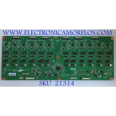 LED DRIVER TOSHIBA / 75017846 / INV55L96C / 02171A / PANEL LTA550HF01 / MODELO 55SV670U