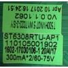 MAIN FUENTE (COMBO) WESTINGHOUSE / W17022-2-SY / ST6308RTU-AP1 / 110105001902 /  MODELO WD50FB2530
