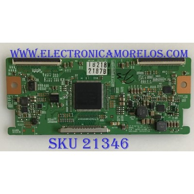 T-CON LG / 6871L-2187B / 6870C-0318B / PANEL LC320WUN-SCA2 / MODELO 32CS560-UE