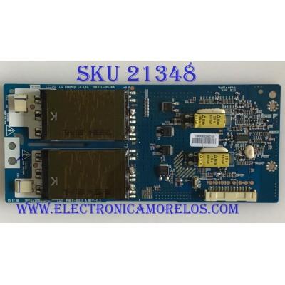 BACKLIGHT INVERTER  LG / 6632L-0636A / 3PEGA20003A-R / PANEL LC320WUN-SCA2 / MODELO 32CS560-UE