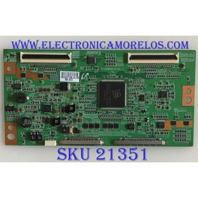 T-CON MITSUBISHI / LJ94-03287Q / S120BM4C4LV0.7 / PANEL LTA400HF14 / MODELO LT-40164