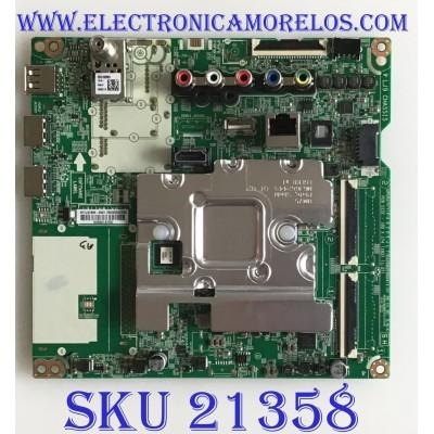 MAIN PARA TV LG SMART 4K ULTRA HD CON HDR / EBU65202206 / EAX68253604(1.0) / PANEL'S NC430DQG ABHX1 / NC430DQG-ABHX3 / MODELOS 43UM7300PUA.DUSFLJM / 43UM7300AUE.BUSFLJM