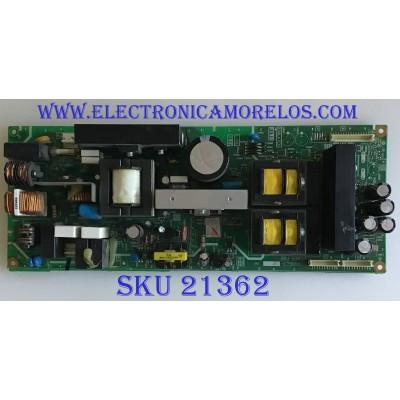 FUENTE DE PODER JVC / SFL-9060A-M2 / LCB90643 / PANEL LTA400WS-L02 / MODELOS LT-40X667 / LT-40X787 / LT-40X887