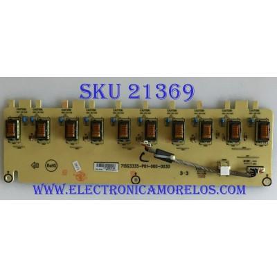 BACKLIGHT VIZIO / INTV8GAAMQA5 / 715G3335-P01-000-003D / 8GAAMQA5/ PANEL TPT260B1-L11 / MODELO VA26LHDTV10T LTMMDAAK