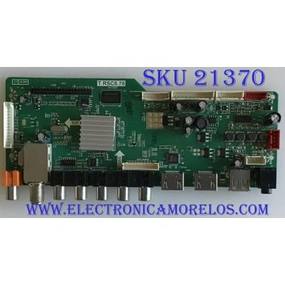 MAIN RCA / 29RE010C878LNA1-B1 / T.RSC8.78 / B13070097/ 20130713173246 / MODELO LED29B30RQD