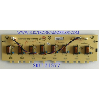 BACKLIGHT INSIGNIA / INTV9G88AAA7 / 715G3631-P02-000-003S / 9G88AAA7 / PANEL T260XW02 V.U / MODELOS NS-L26Q-10A  / E269AZNKW3BTNN