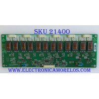 BACKLIGHT INVERTER OLEVIA / SIT230W2D6UC01 / G060312639E2 / GH134A / PANEL LTA230W1-L02 / MODELO 323-S11
