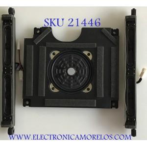 KIT DE BOCINAS PARA TV SHARP / ZA458WJ / ZA456WJ / MODELO LC-46LE810UN / LC-46LE820UN /