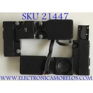 KIT DE BOCINAS PARA TV HISENSE / VIT130250-1248-01/ROH / 01180200070 / 18C301C2 / MODELO 55H9E