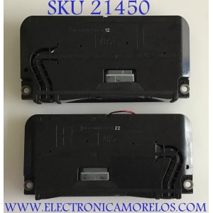 KIT DE BOCINAS PARA TV SONY / 1-859-201-22 / 1-859-201-12 / VHT7D27  / MODELO XBR-55X900F