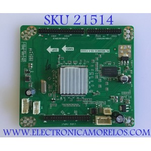 TARJETA INTERFACE / RE3342B061-A1 / PL.MS6M30.1D-1 13222 / T460HW04 V4 / PANEL LSC550HJ03-12V / MODELO LED55C55R120Q