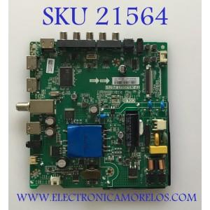 MAIN FUENTE (COMBO) SHARP / 242733 / TP.MS3553T.PB701 / HU40N2173F / PANEL JHD396N2F01-K1QL\GM\ROH\S0 / MODELO LC-40Q3070U