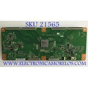T-CON SONY / 55.65T39.C01 / T650QVN04.0 / CTRL BD - 65T39-C00 / 5565T39C01 / PANEL T650QVF06.2 / MODELO XBR-65X850C