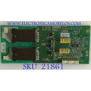 BACKLIGHT INVERTER SANYO / 6632L-0561A / KLS-EE32PIH12S / PANEL LC320WXN-SBG2 / MODELO DP32649 P32649-04