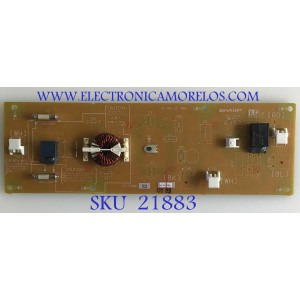 AC RELAY PARA MONITOR SHARP / F1160MPE2 / F1160MP / MODELO PN-E703