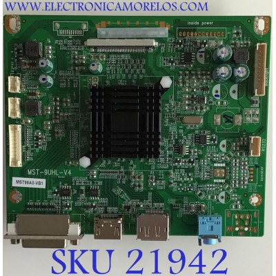 MAIN VIOTEK MONITOR / JRYL08C-U12DV / MST-9UHL-V4 / MST98A0.VB1 / 821-50762 / MODELO GN35DA